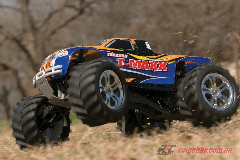 Автомобиль Traxxas T-Maxx Classic Nitro Monster 1:10 RTR RC HOBBY
