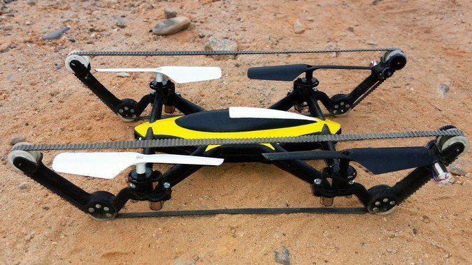 Летающий танк: начало новой эры дронов RC HIBBY
