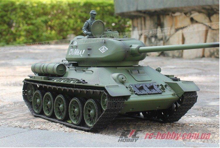 Танк Heng Long T-34 1:16 RTR RC HOBBY