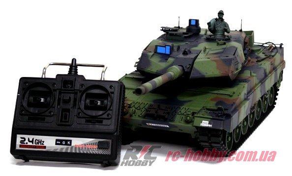 Танк Heng Long Leopard II A6 1:16 RC HOBBY